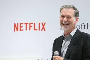 wall street loves netflix's price bump: streaming giant hits all-time high