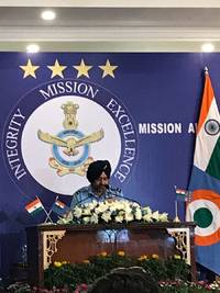 Air Force is prepared to fight at a short notice and  is capable to carry out any operations: IAF Chief B S Dhanoa