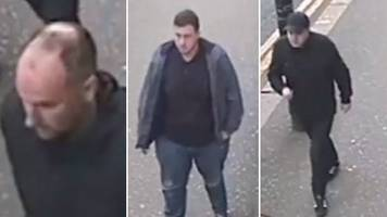 cctv released over large-scale disturbance in glasgow city centre