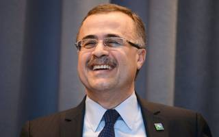 saudi aramco is still on for listing in 2018 says chief executive