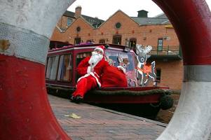 cruise along the river wey with santa this christmas