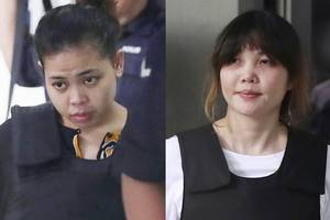 Chemical Poison Found On Clothes Of Women Accused of Murdering Kim Jong Nam