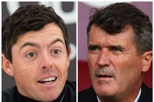 manchester united legend roy keane turned down my autograph request and i've never liked him since says rory mcilroy