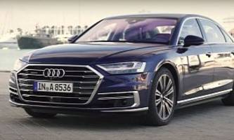 2018 audi a8 first reviews: it's a techfest