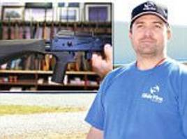 air force veteran who invented the 'bump stock' device
