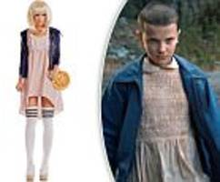 sexy stranger things eleven costume causes outrage