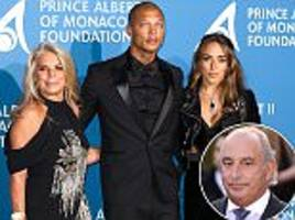 sir philip green welcomes 'hot felon' jeremy meeks