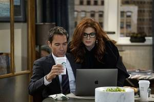 ratings: 'will and grace' loses one-third of last week's big return audience