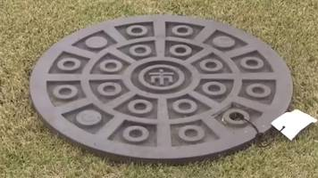 japanese lottery winners get 'collectable' manhole covers
