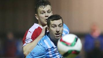 irish premiership: reds boss gray out to build on win over linfield