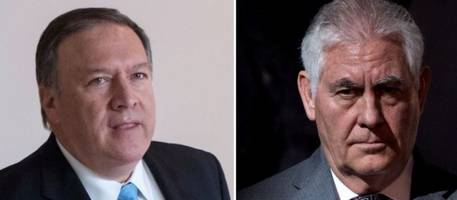 Will CIA Director Mike Pompeo Replace Rex Tillerson As Secretary Of State?