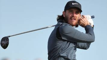alfred dunhill links: tommy fleetwood and tyrrell hatton lead