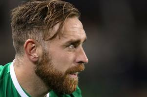 derby county skipper an unused substitute as republic of ireland beat moldova in world cup qualifier