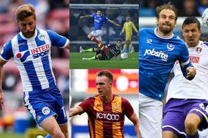 sky bet league one's standout players from likes of portsmouth, wigan athletic and peterborough