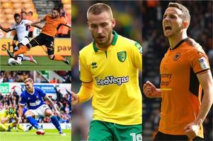 the sky bet championship's standout players from likes of wolves, millwall, ipswich and norwich city