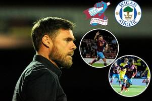 scunthorpe united v wigan athletic: graham alexander has tough decisions to make