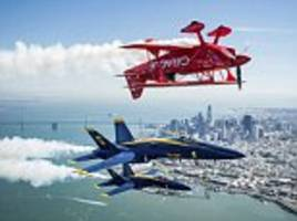 breathtaking photos show blue angels over san francisco