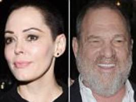 rose mcgowan lashes out amid weinstein sex abuse scandal