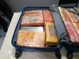 gang smuggled £10m of cocaine through heathrow airport