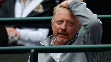 after losing millions to nigerian scammers, a bankrupt boris becker is liquidating his assets