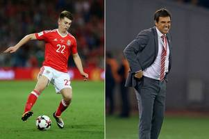 the moment chris coleman feared he'd blown wales' world cup chances after bringing on liverpool star ben woodburn