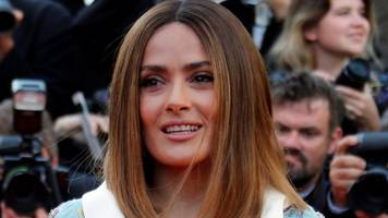 how hollywood superstar salma hayek dropped out