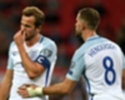 'worst xi england have fielded?' - fans bemused by experimental three lions team