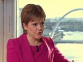 sturgeon refuses to apologise for snp poll slide