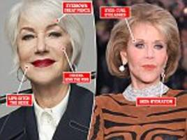 what mirren and fonda can teach you about make-up after 50