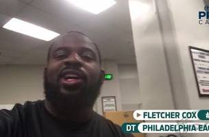 fletcher cox at the stadium | procast