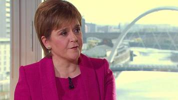 how can catalans express their view - nicola sturgeon
