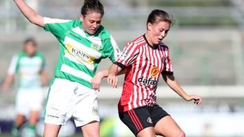 yeovil town ladies v sunderland ladies