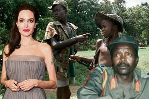 angelina jolie in secret 'honeytrap' plot to snare wanted african warlord who brutalised child soldiers