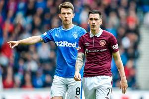 hearts star jamie walker opens up over failed rangers move and insists abuse family received was out of order