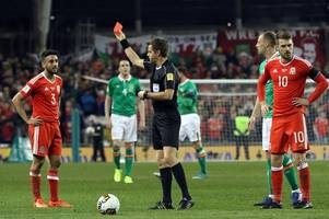 the wales world cup play-off scenario explained - why wales' disciplinary record could cost them qualification