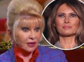 Melania Trump hits out at Ivana over 'first lady' comment