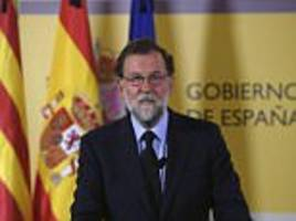 spain's pm insists the country will not be divided