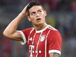 bayern munich: james rodriguez 'wants real madrid return'