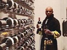Floyd Mayweather flaunts his 'fine wine' in Beverly Hills