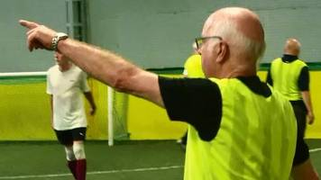 walking football: which of the charlton brothers is still playing five-a-side?