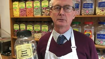 great yarmouth ghost claim rejected in sweet shop notice