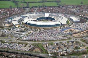head of gchq in cheltenham: 'tackling cyber attacks is as important as fighting terrorism'