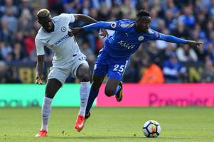 wilfred ndidi to be assessed after suspected hamstring injury