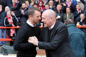 mark warburton and gary rowett can't be separated - but not in the same sense as nigel clough and billy davies!