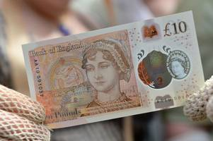 new £10 note sells for £7,200 at auction - is yours worth a fortune?