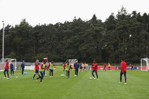 st george's park celebrates fifth anniversary with special guests from england football set-up visiting