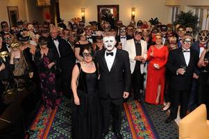 venetian ball at branston golf and country club raises £2,000 for help for heroes