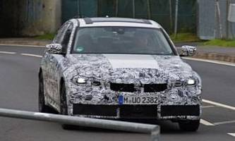 2019 BMW 3 Series Spied at Nurburgring, M3 Rumored to Get New S58 Engine