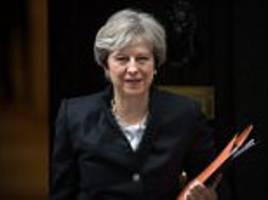 May gets real on Brexit 'no deal' and new border controls