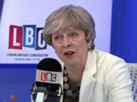 quentin letts on theresa may's lbc radio phone-in